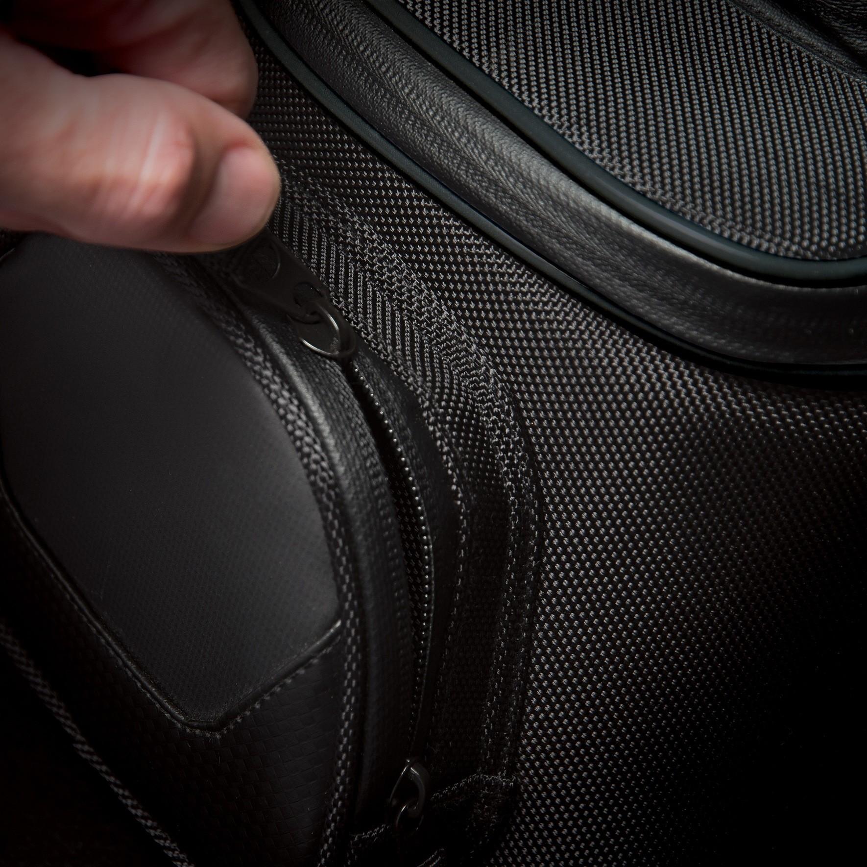 Fastrax Backroads Small Tank Bag Zipper Detail