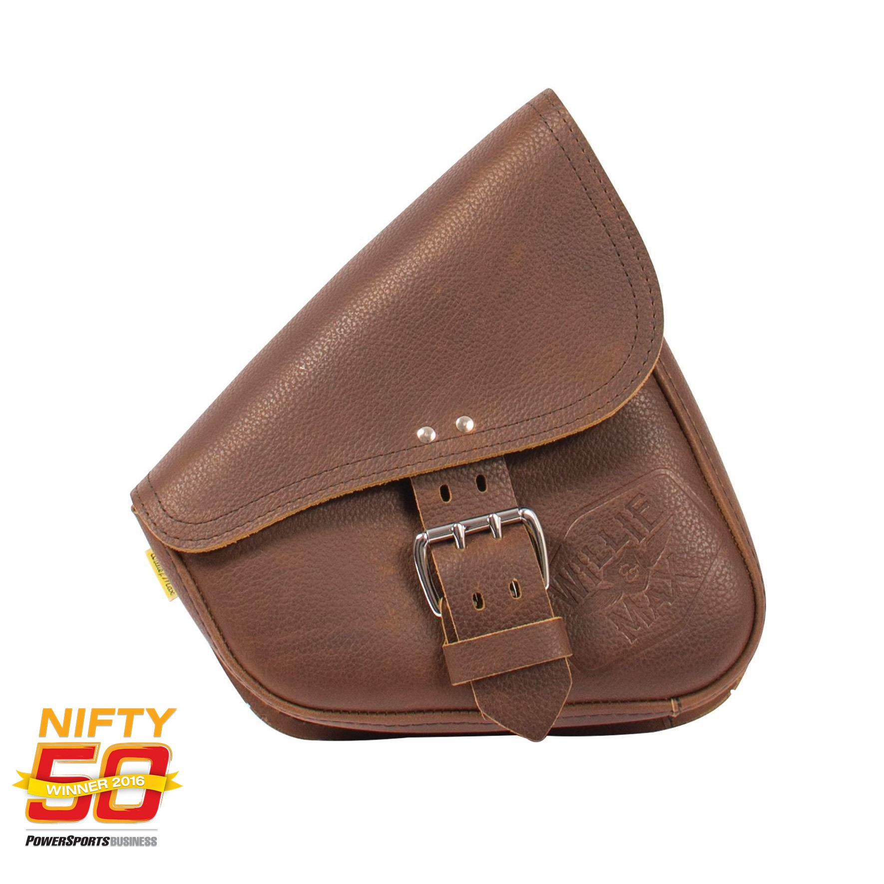 Willie and Max Swingarm Bag Nifty 50 Award